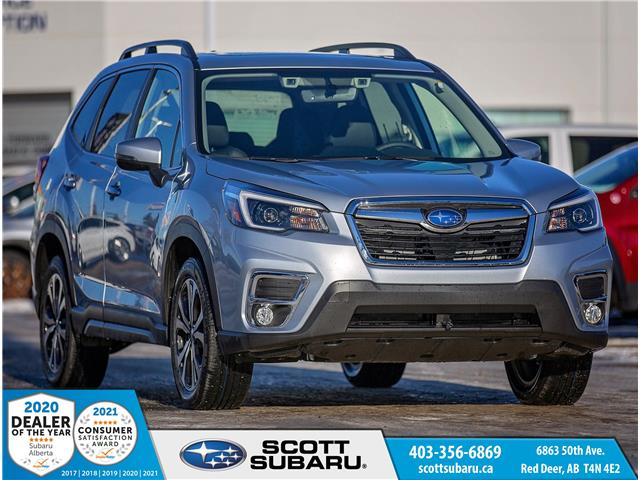2021 Subaru Forester Limited (Stk: 475212) in Red Deer - Image 1 of 22