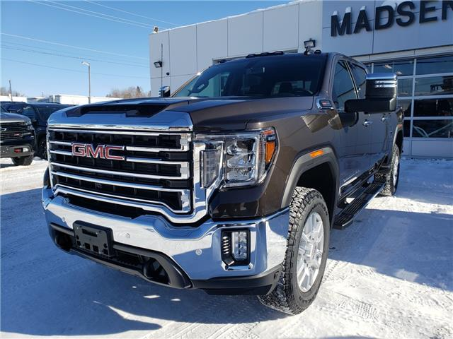 2021 GMC Sierra 2500HD SLT (Stk: 21186) in Sioux Lookout - Image 1 of 17