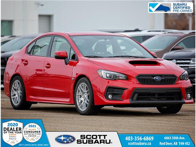 2018 Subaru WRX Sport JF1VA1D68J9834415 SS0425 in Red Deer