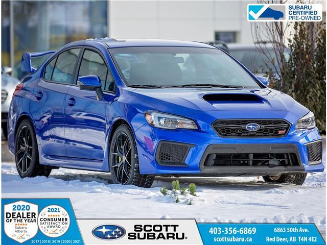 2019 Subaru WRX STI Sport JF1VA2T64K9801467 01467U in Red Deer