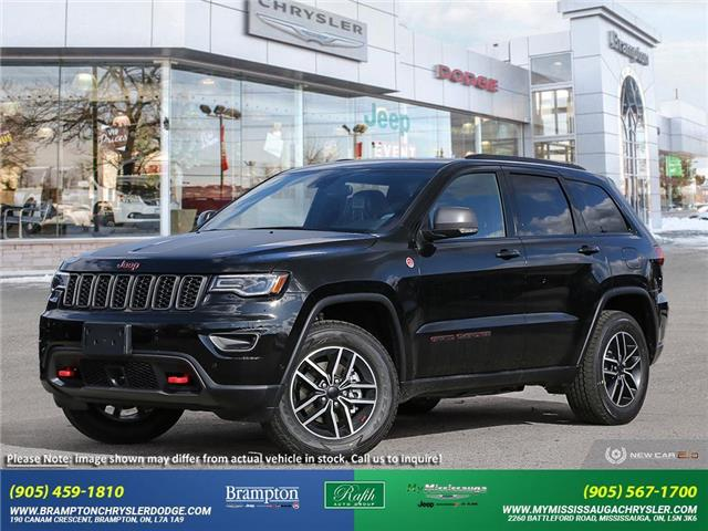 2021 Jeep Grand Cherokee Trailhawk (Stk: 21517) in Brampton - Image 1 of 22