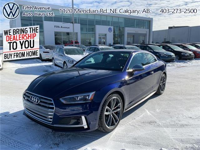 2018 Audi S5 3.0T Technik (Stk: 3608) in Calgary - Image 1 of 28