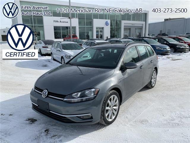 2019 Volkswagen Golf SportWagen 1.8 TSI Highline (Stk: 3645) in Calgary - Image 1 of 25
