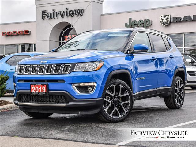 2019 Jeep Compass Limited (Stk: U18012) in Burlington - Image 1 of 27
