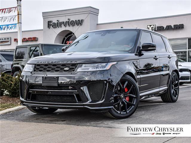 2019 Land Rover Range Rover Sport SVR (Stk: U18324) in Burlington - Image 1 of 30