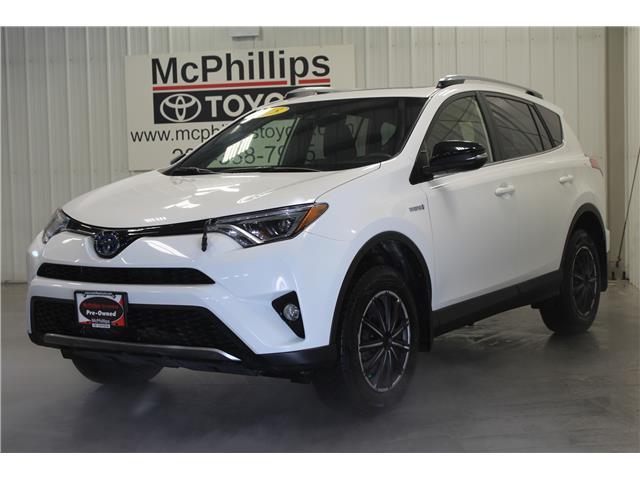 2018 Toyota RAV4 Hybrid SE (Stk: D014314A) in Winnipeg - Image 1 of 25