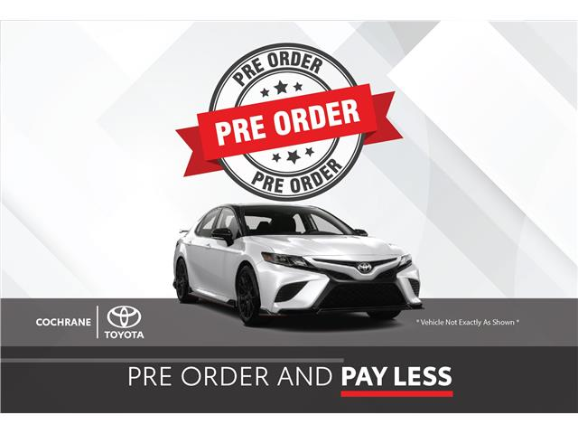 New 2021 - Camry SE Night Shade AWD  - Cochrane - Cochrane Toyota