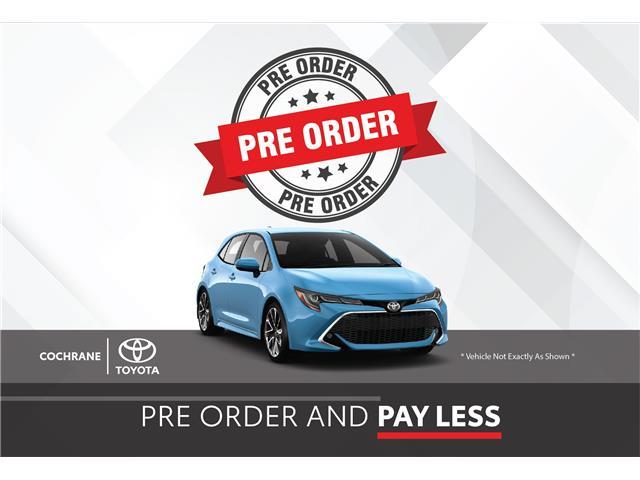 New 2021 - Corolla Hatchback Nightshade  - Cochrane - Cochrane Toyota