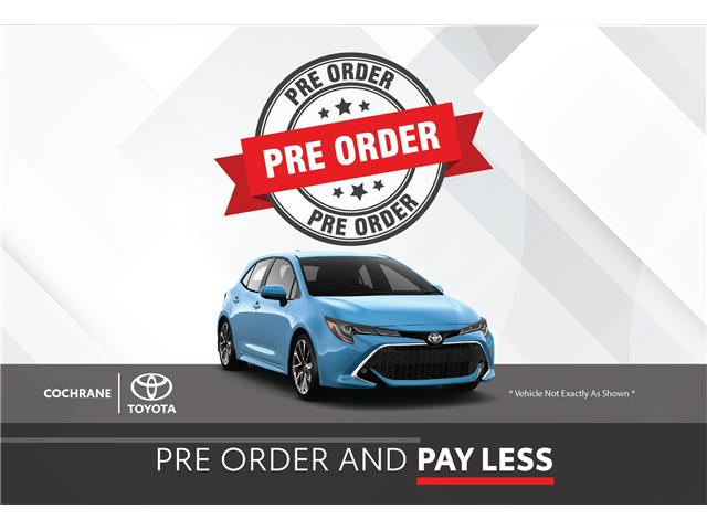 New 2021 - Corolla Hatchback XSE 6MT  - Cochrane - Cochrane Toyota