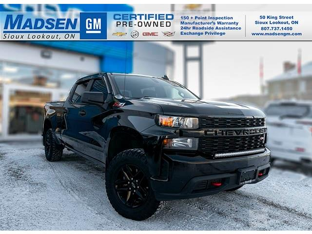 2019 Chevrolet Silverado 1500 Silverado Custom Trail Boss (Stk: A21163) in Sioux Lookout - Image 1 of 11