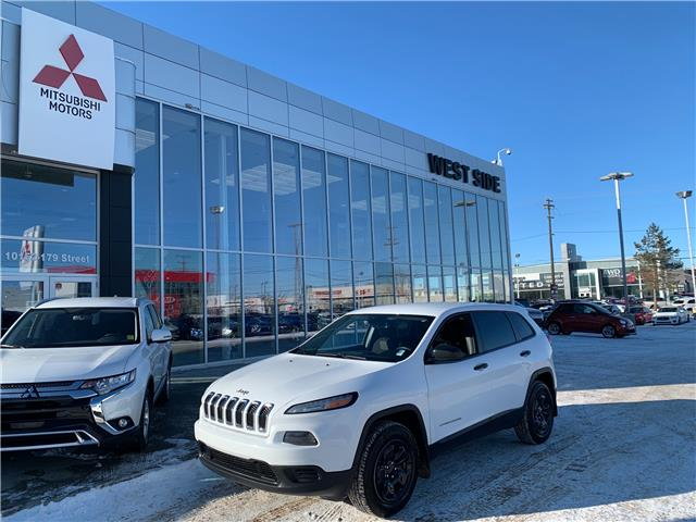 2016 Jeep Cherokee Sport (Stk: 22492A) in Edmonton - Image 1 of 18