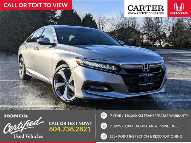 2018 Honda Accord Touring 2.0T (Stk: B00180) in Vancouver - Image 1 of 18