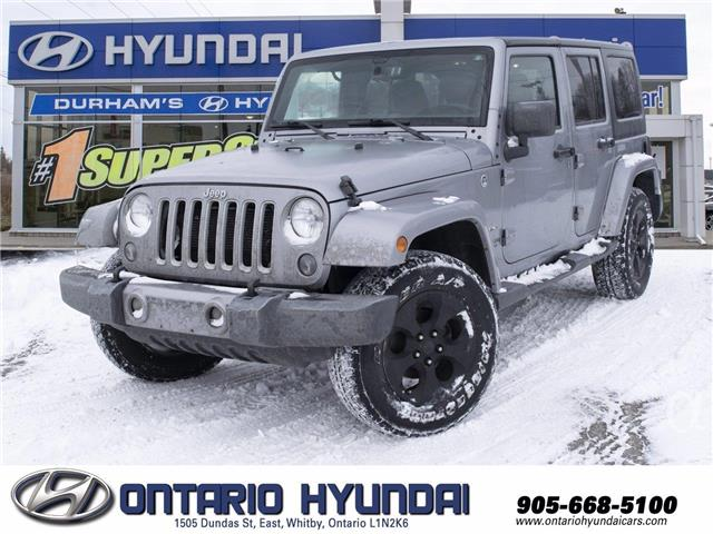 2016 Jeep Wrangler Unlimited Sahara (Stk: 82289K) in Whitby - Image 1 of 15