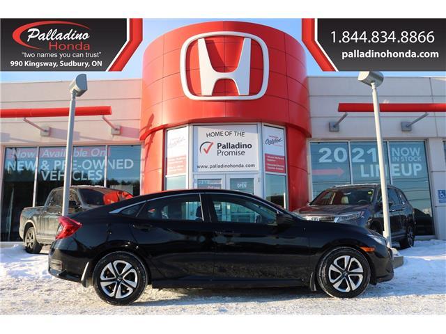 2017 Honda Civic LX (Stk: U9897) in Greater Sudbury - Image 1 of 31