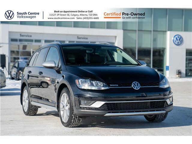 2019 Volkswagen Golf Alltrack 1.8 TSI Highline (Stk: U6681) in Calgary - Image 1 of 42