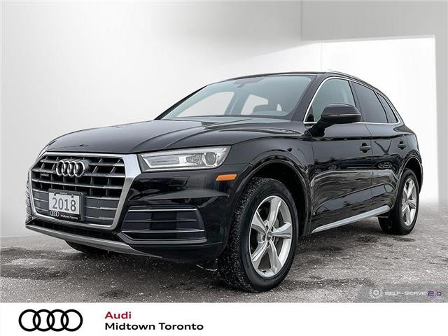 2018 Audi Q5 2.0T Progressiv (Stk: P8743) in Toronto - Image 1 of 25