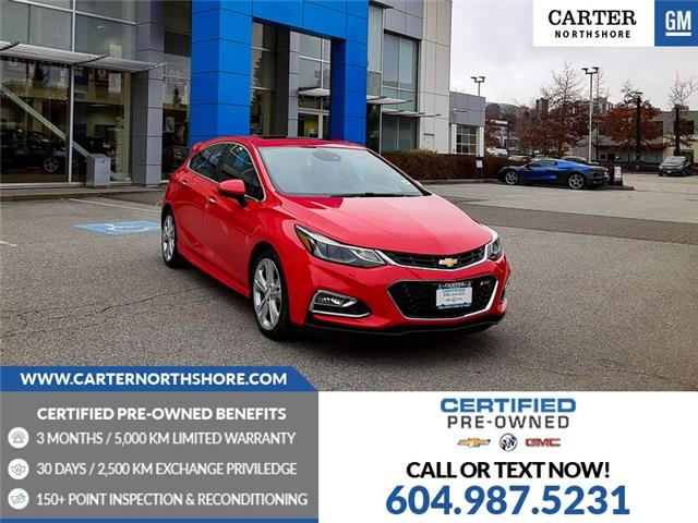 2017 Chevrolet Cruze Hatch Premier Auto (Stk: 975110) in North Vancouver - Image 1 of 29