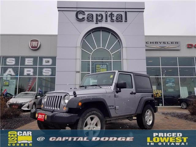 2017 Jeep Wrangler Sport (Stk: P2993A) in Kanata - Image 1 of 15