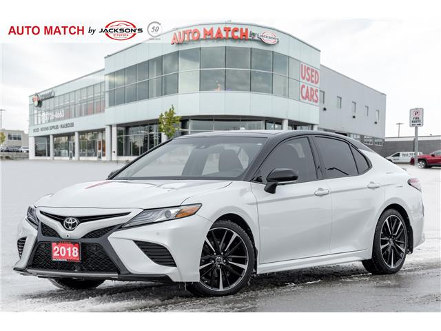 2018 Toyota Camry XSE V6 (Stk: U9542) in Barrie - Image 1 of 24