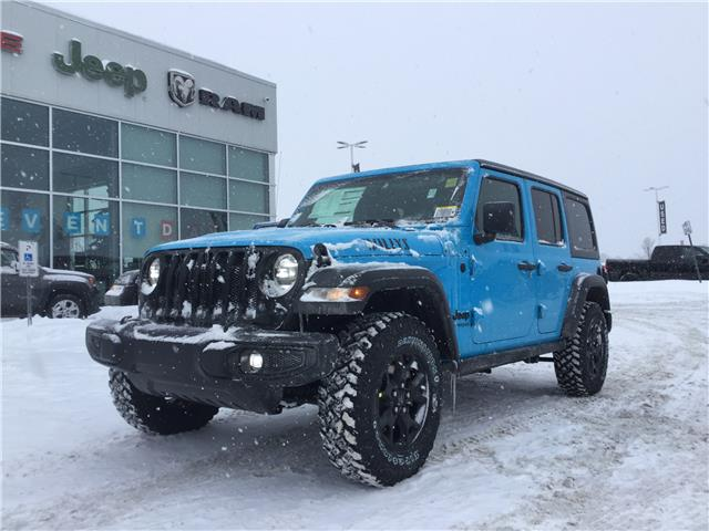 2021 Jeep Wrangler Unlimited Sport (Stk: M00271) in Kanata - Image 1 of 21