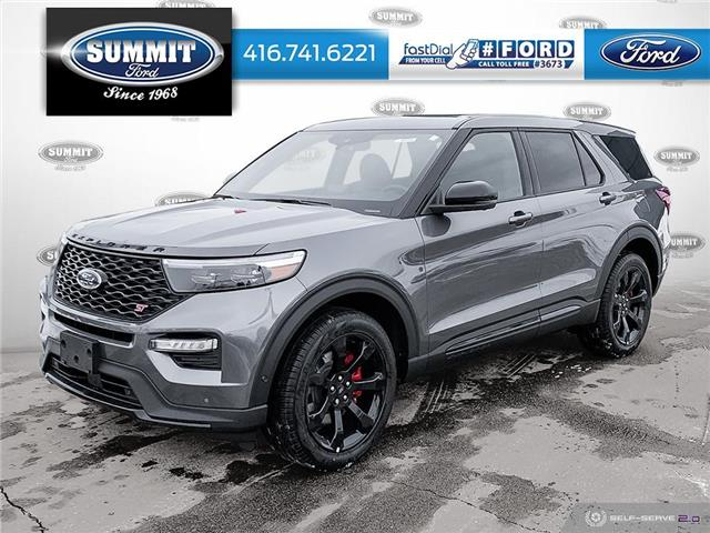 2021 Ford Explorer ST (Stk: 21T8324) in Toronto - Image 1 of 25