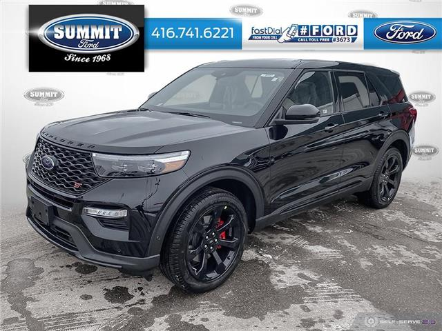 2021 Ford Explorer ST (Stk: 21T8332) in Toronto - Image 1 of 25