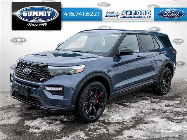 2021 Ford Explorer ST (Stk: 21T8323) in Toronto - Image 1 of 25