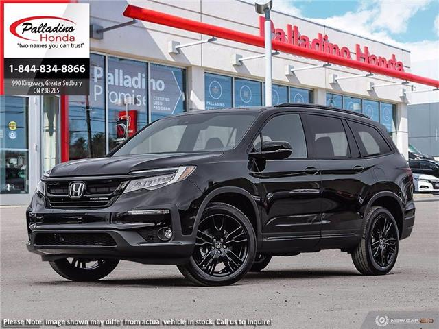 2021 Honda Pilot Black Edition (Stk: 23095) in Greater Sudbury - Image 1 of 23