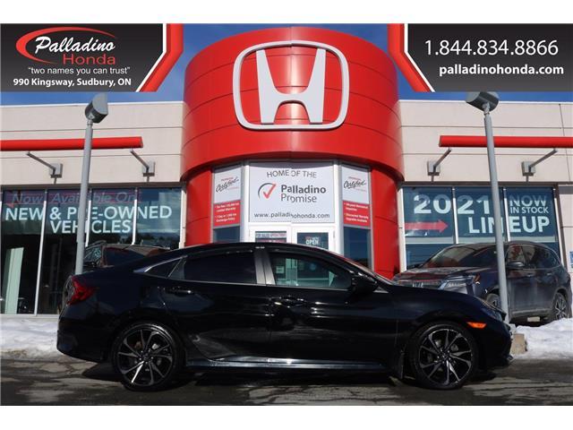 2019 Honda Civic Sport (Stk: 23028A) in Greater Sudbury - Image 1 of 35