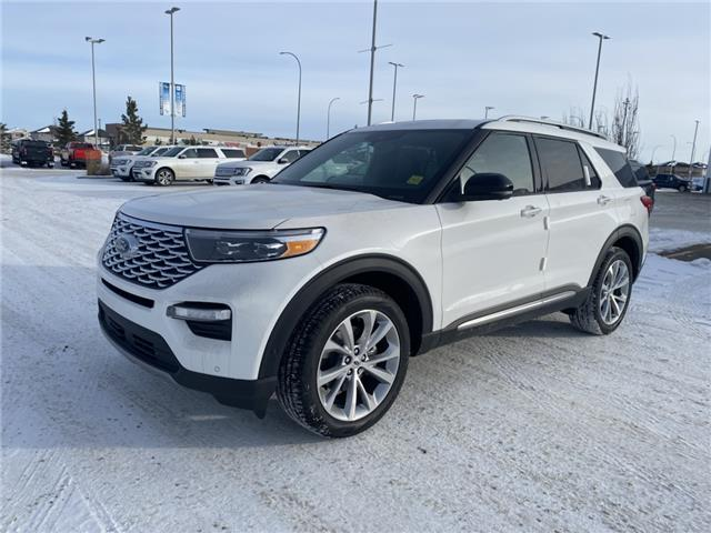 2021 Ford Explorer Platinum (Stk: MEX021) in Fort Saskatchewan - Image 1 of 23