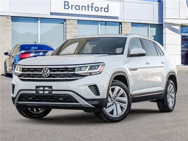 2021 Volkswagen Atlas Cross Sport 3.6 FSI Highline (Stk: AS21004) in Brantford - Image 1 of 23