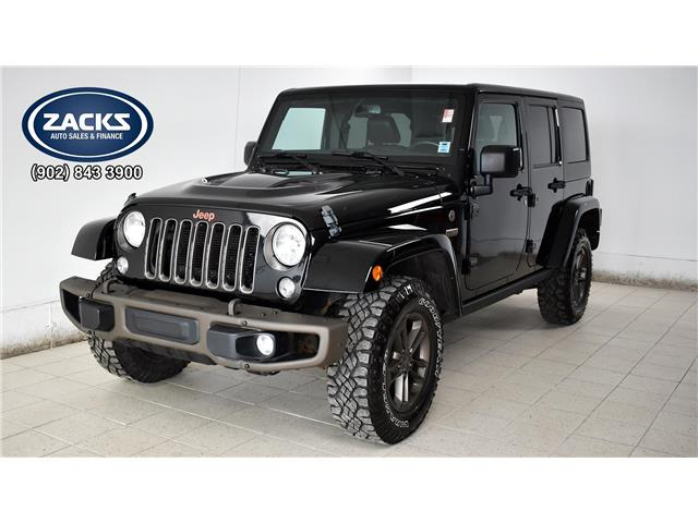2017 Jeep Wrangler Unlimited Sahara (Stk: 09773) in Truro - Image 1 of 35
