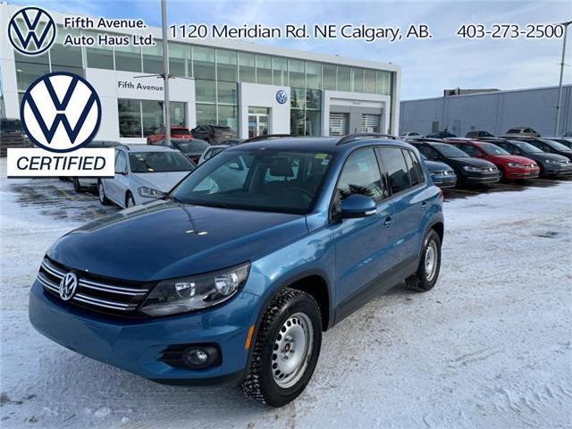 2017 Volkswagen Tiguan Wolfsburg Edition (Stk: 3648) in Calgary - Image 1 of 25