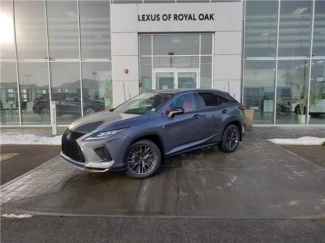 2021 Lexus RX 350 Base (Stk: L21215) in Calgary - Image 1 of 13