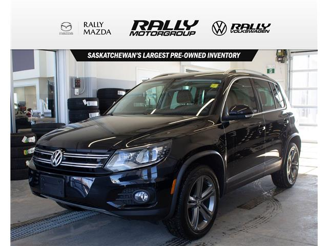 2017 Volkswagen Tiguan Highline (Stk: V1421) in Prince Albert - Image 1 of 16