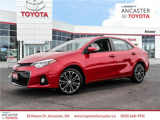 2016 Toyota Corolla S (Stk: 4121) in Ancaster - Image 1 of 30