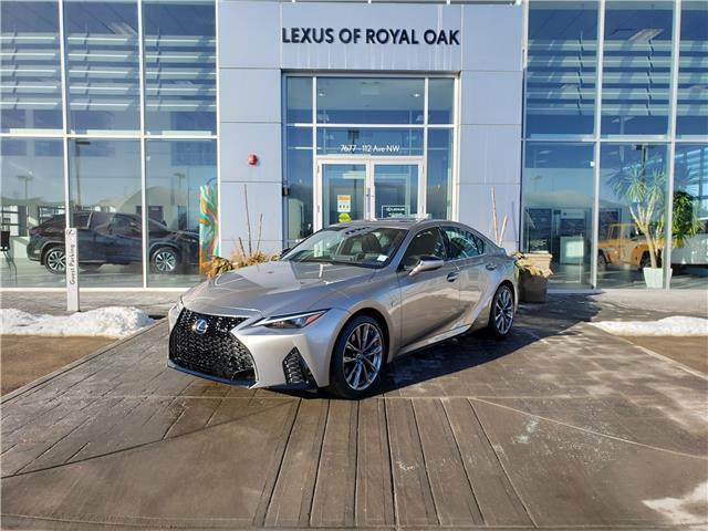2021 Lexus IS 300 Base (Stk: L21225) in Calgary - Image 1 of 13