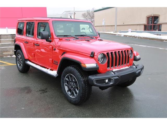 New 2021 Jeep Wrangler Unlimited Sahara Sahara 80th Anniversary Unlimited 4x4 - St. John\'s - Hickman Chrysler Dodge Jeep