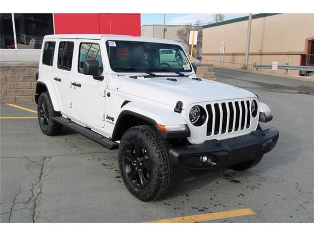 New 2021 Jeep Wrangler Unlimited Sahara Altitude Unlimited 4x4 - St. John\'s - Hickman Chrysler Dodge Jeep