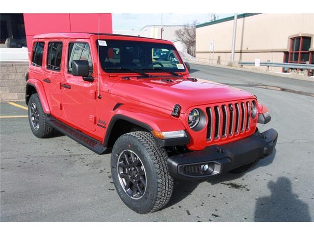 New 2021 Jeep Wrangler Unlimited Sahara Sahara 80th Anniversary Unlimited 4x4 - St. John\'s - Hickman Chrysler Dodge Jeep