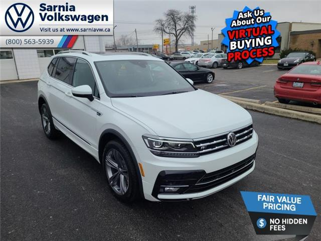 2021 Volkswagen Tiguan Highline (Stk: V2156) in Sarnia - Image 1 of 14