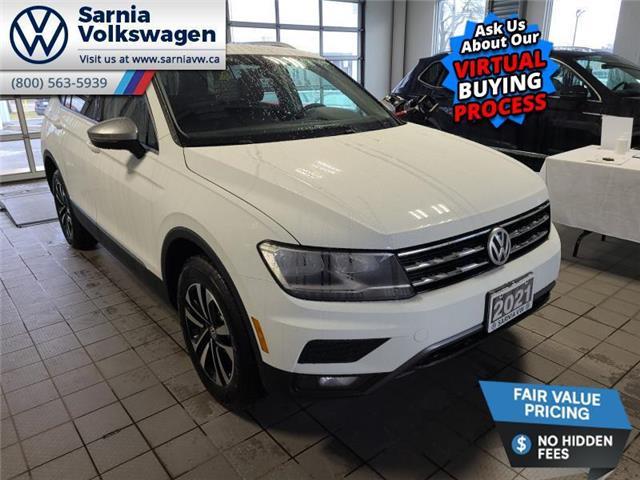 2021 Volkswagen Tiguan United (Stk: V2171) in Sarnia - Image 1 of 22