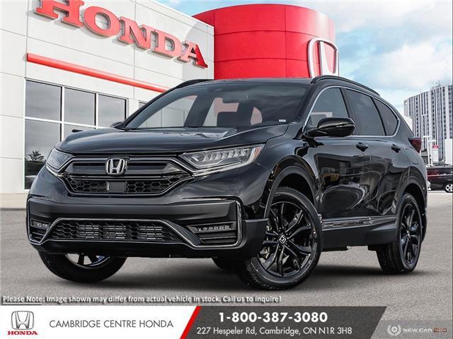 2021 Honda CR-V Black Edition (Stk: 21655) in Cambridge - Image 1 of 24