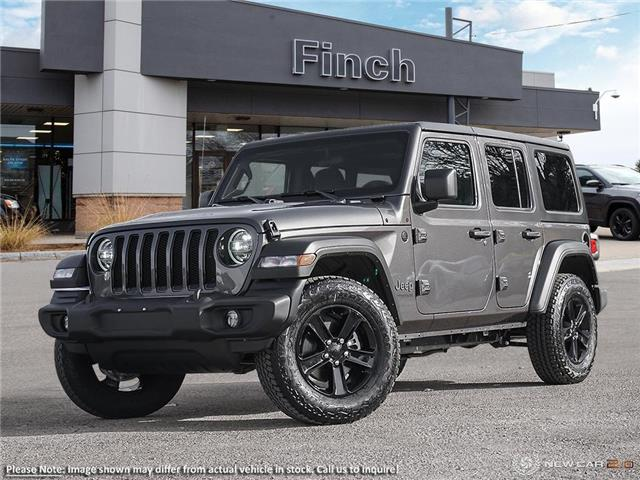 2021 Jeep Wrangler Unlimited Sport (Stk: 100924) in London - Image 1 of 24