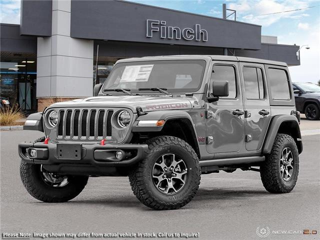 2021 Jeep Wrangler Unlimited Rubicon (Stk: 100951) in London - Image 1 of 24