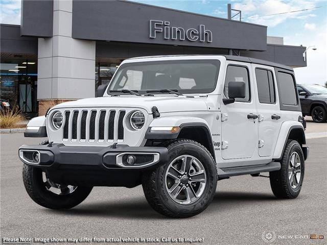 2021 Jeep Wrangler Unlimited Sahara (Stk: 100953) in London - Image 1 of 24
