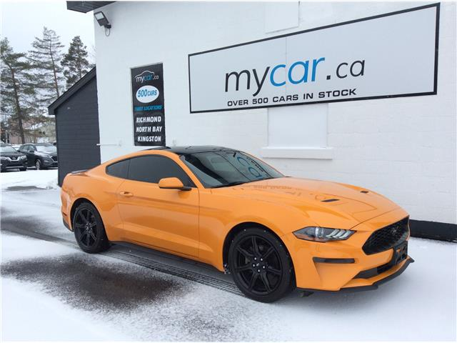 2018 Ford Mustang EcoBoost (Stk: 210090) in Ottawa - Image 1 of 18