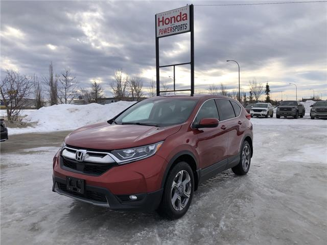 2019 Honda CR-V EX (Stk: P21-003) in Grande Prairie - Image 1 of 27