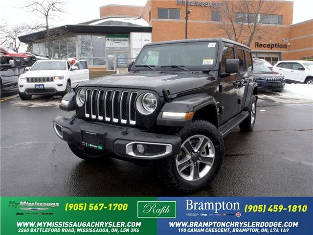 2021 Jeep Wrangler Unlimited Sahara (Stk: 21255) in Mississauga - Image 1 of 6