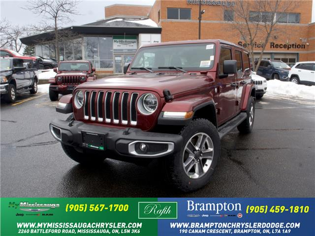 2021 Jeep Wrangler Unlimited Sahara (Stk: 21180) in Mississauga - Image 1 of 6